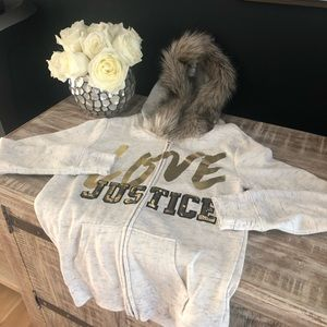 Justice girls sweatshirt